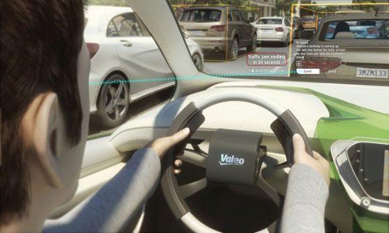 Voiture autonome selon Valeo Drive 4U