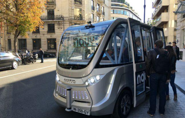 Navya Arma Transport Collectif en véhicule autonome