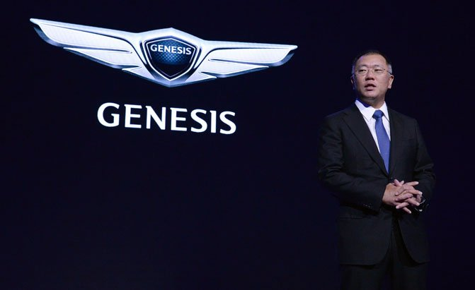 Lancement de la marque de luxe Genesis de Hyundai