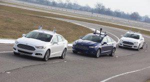 La Google Car consruite par Ford