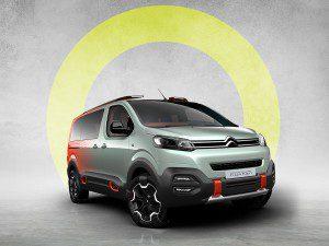 Citroen a présenté sa version SpaceTourer Hyphen Hyphen au salon de l'auto de Genève