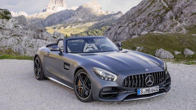 Mercedes AMG GT Roadster en vidéo