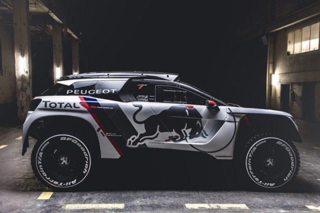Peugeot 3008 DKR à l'assaut du Dakar 2017