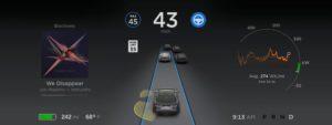 Pilote automatique Tesla 8.0