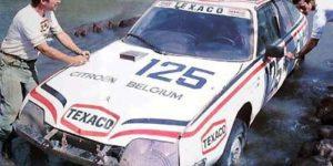 1981 Paris Dakar Jacky Ickx Claude Brasseur Citroen CX 2400 GTI