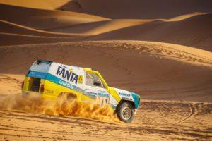Nissan Patrol Fanta Limon Dakar 1987
