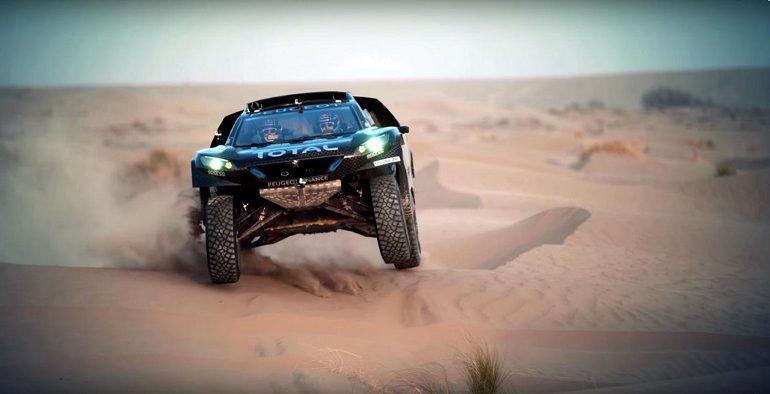 Dakar 2016 Sébastien Loeb sur Peugeot 2008 DKR