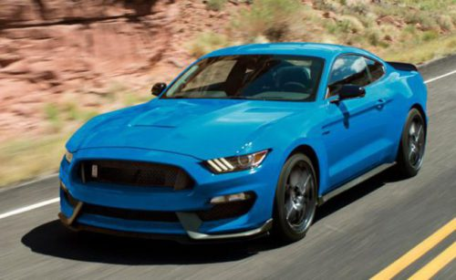 Ford Mustang Hybrid CES 2017