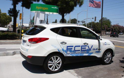 SUV Hyundai à pile à combustible