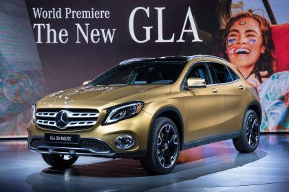 Mercedes GLA Salon de l'auto de Detroit 2017