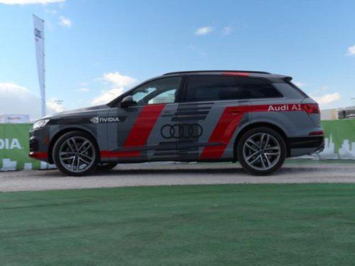 Audi NVIDIA CES 2017