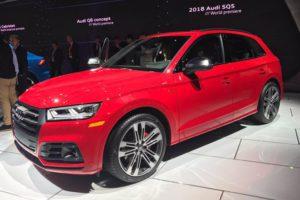 Audi SQ5 Detroit 2017