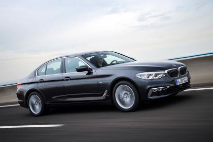 BMW Série 5 au Salon de détroit 2017
