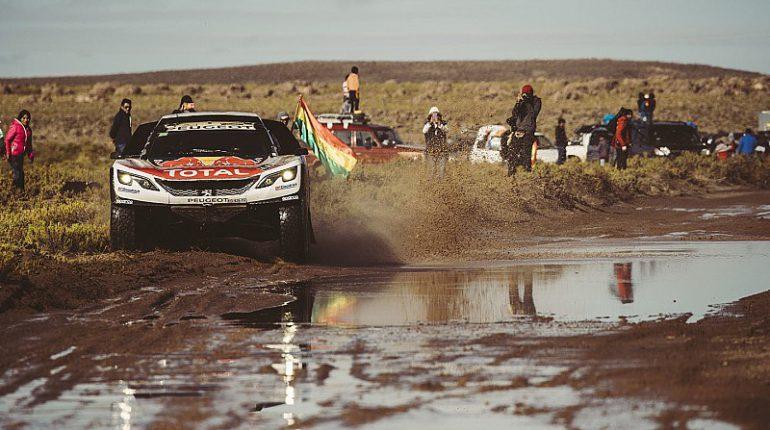 Etape 10 Dakar 2017 Sebastien Loeb et Daniel Loeb