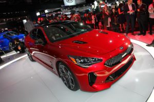Kia Stinger GT Salon de Detroit 2017