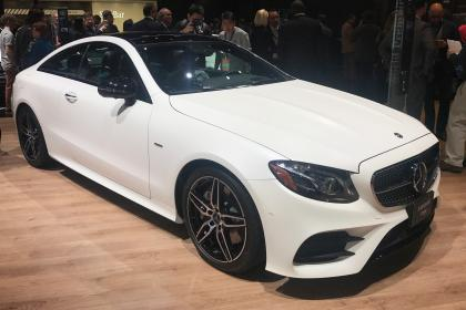 Mercedes Classe E au Salon de detroit 2017