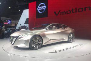 Nissan V motion Concept Detroit 2017