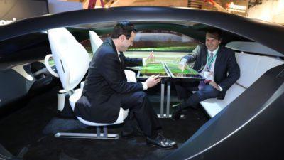 Panasonic Autonomous cabin concept CES 2017