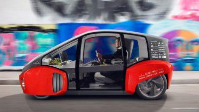 Le Concept Rinspeed Oasis au salon de l'auto de detroit 2017