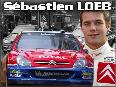 Sébastien Loeb 9 fois champion du Monde : ici en 2000