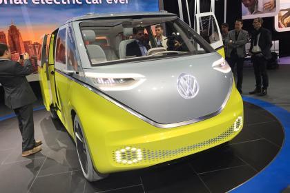 Volkswagen ID Buzz au salon de l'auto de detroit 2017