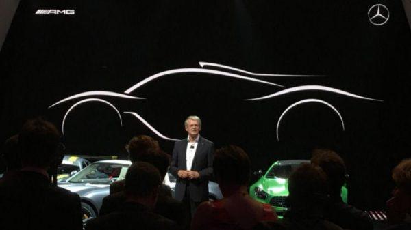 Mercedes AMG Hypercar avec un moteur F1 Hybrid 1000 ch