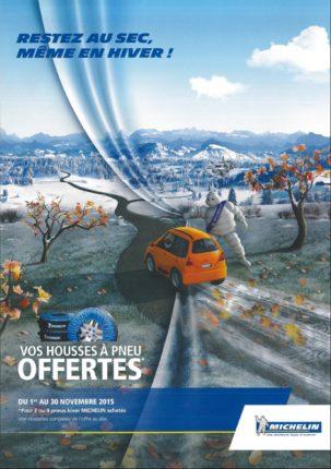 Offre pneu neige Michelin Novembre 2015