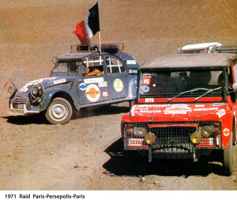 Raid citroen 2 cv paris persepolis paris blog auto carid al for Garage renault treize septiers