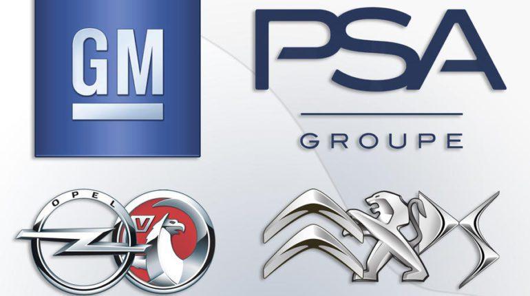 Logo PSA GM Opel Vauxhall Citroen DS