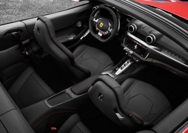 Intérieur Ferrari Portofino 2018