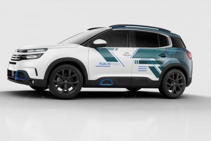 Concept Citroen C5 Aircross hybride sera présent au salon automobile de Paris 2018
