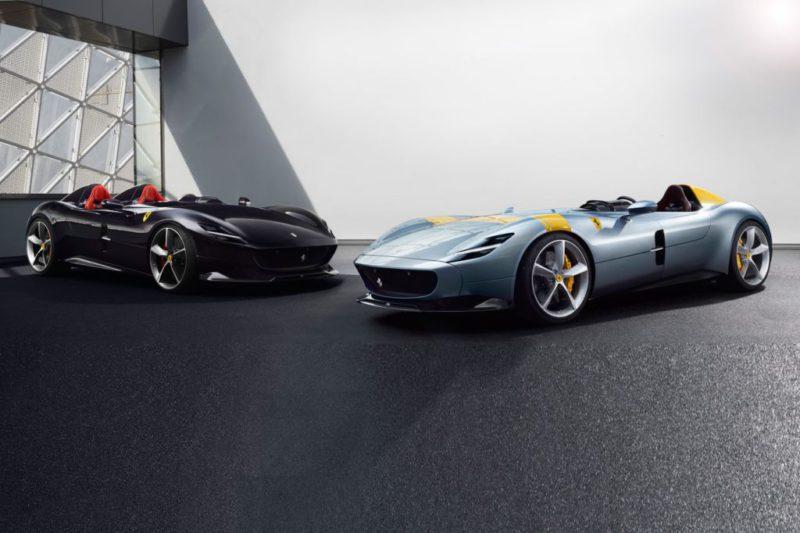 Ferrari Monza SP1 & SP2 seront présent au salon automobile de Paris 2018
