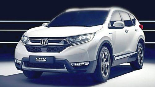 Honda CR-V hybride avant