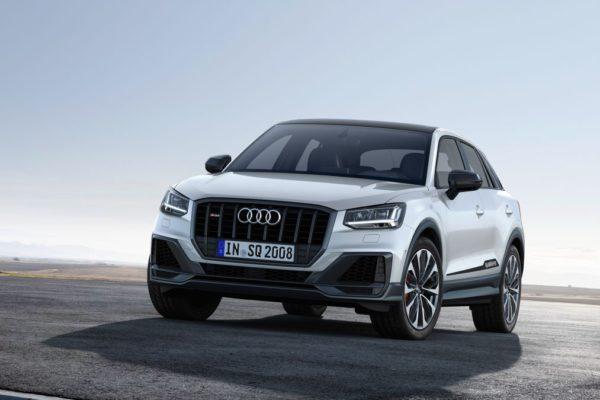 Nouveau Audi SQ2 - blanc