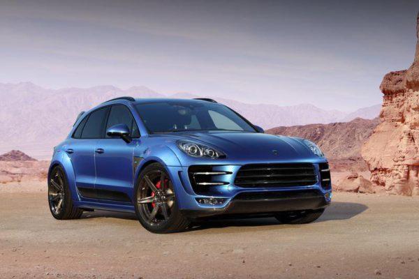 Porsche Macan - avant