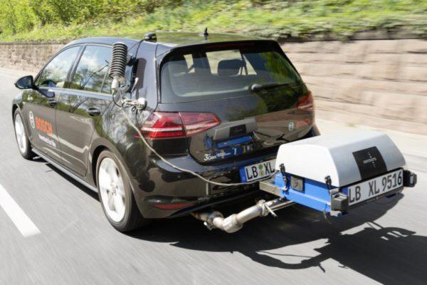 Essai en Ville : La nouvelle technologie Bosch de moteur diesel propre réduit considérablement les émissions de NOx diesel