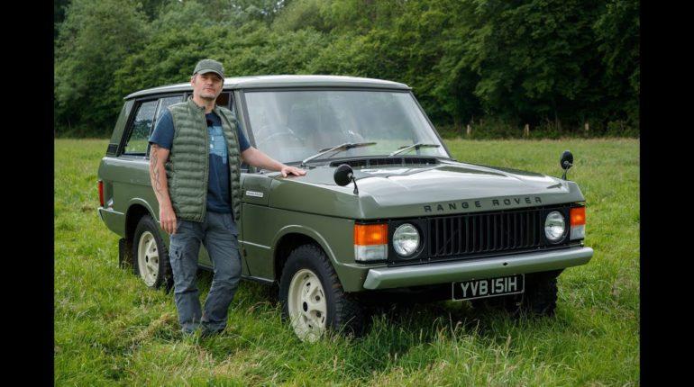 Range Rover Velar 2017 vs 1969
