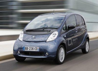 Peugeot Ion la voiture électrique qui décote le plus