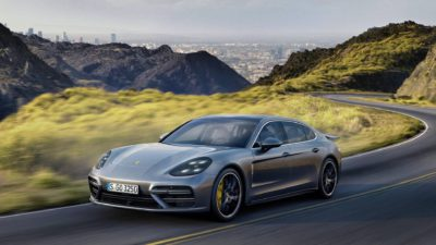 Porsche Panamera meilleure voiture pour la dépréciation