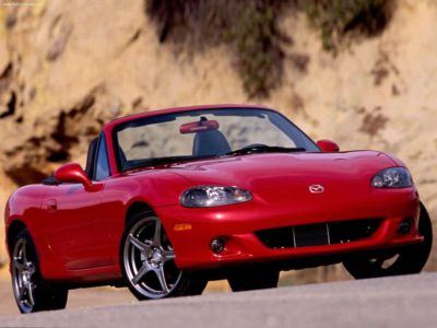 Cabriolet Mazda MX5 2004 d'occasion pas cher