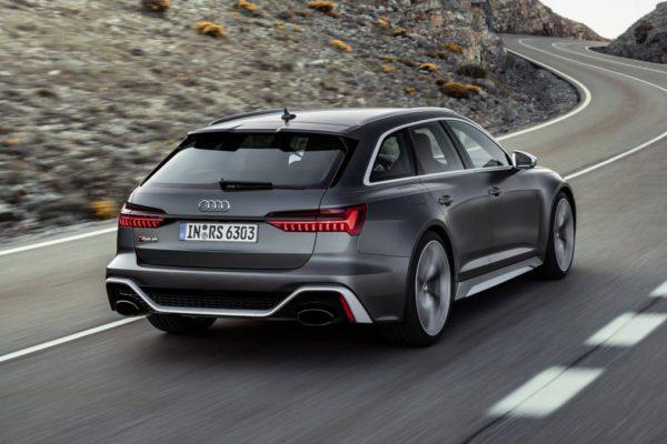 Audi RS 6 avant 2020 vue arrière