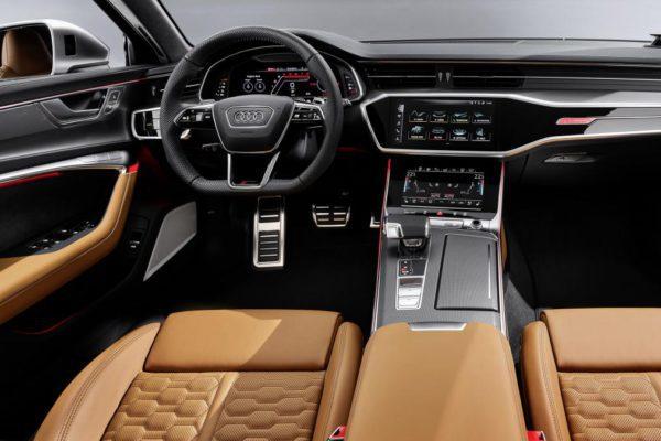 Audi RS 6 avant 2020 intérieur