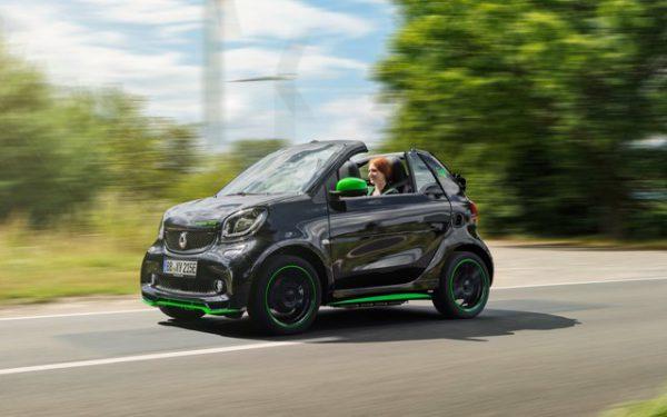 Smart EQ ForTwo Cabrio 2019