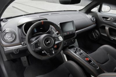 Alpine A110S intérieur