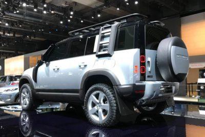Land Rover Defender - Francfort arrière