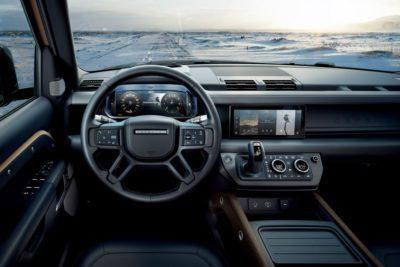 Land Rover Defender intérieur