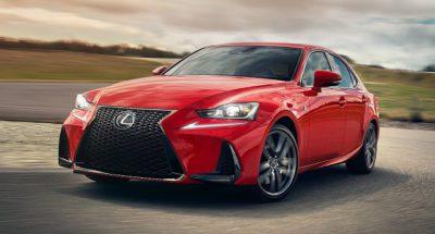 Lexus IS la deuxième voiture la plus fiable 2019