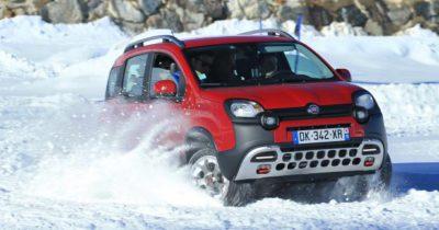 Fiat Panda 4x4 dans la neige