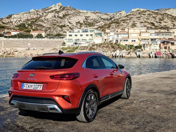 Kia interdit d'images par le Parc national des calanques