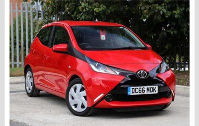 La Toyota Aygo parmi les petites voitures les plus fiables 2019